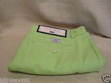 Vineyard Vines Iguana Green Size 34 Classic Club Shorts-FREE Whale Sticker