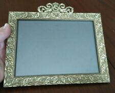 Picture Frame Photo Frame 5 X 7 Polished Brass Phillip Whitney Standing