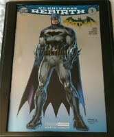 Batman #1 2016 SDCC Foil Convention Exclusive Jim Lee Variant NM+