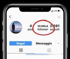 Account 10k 10000 Followers Esistente- Invio In Pochi Minuti