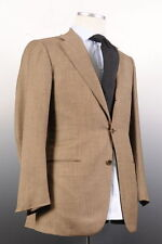Kiton Three Button Solid 100% Wool Suits for Men