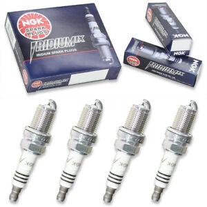4 pcs NGK Iridium IX Spark Plugs for 2006-2014 Volkswagen GTI 2.0L L4 - hn