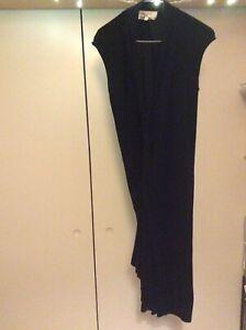 RRP £700 Rare worn ONCE beautiful chic black ladies dress 38 Yves Saint Laurent