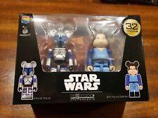 Happy Lottery Star Wars Bearbrick Pair Box 32 Jango Fett and Boba Fett USA Selle