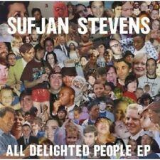 """SUFJAN STEVENS """"ALL DELIGHTED PEOPLE EP"""" CD NEW+"""