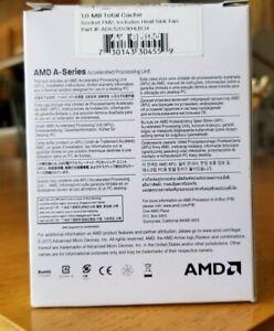AMD A4-6320 Socket FM2 AD6320OKHLBOX with CPU fan and heathsink