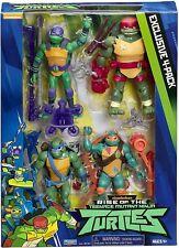 The Rise of The Teenage Mutant Ninja Turtles 4 Pack