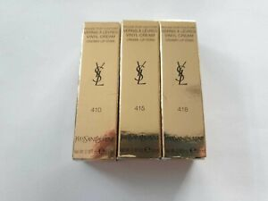YSL Vinyl Cream Creamy Lip Stain 5.5ml - Please Choose Shade:
