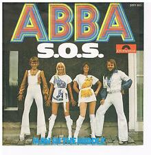 "Abba-S.O.S./Man ín the middle/7"" Single von 1975"