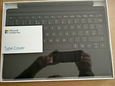 Microsoft Surface Pro 2017 Type cover UK Black- compatible with Surface Pro 3/4