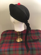 The Airy Glengarry - mesh hat, kilt, bagpipes, pipe bands, bagpipers, pipes glen