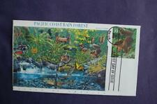Pacific Coast Rain Forest Douglas Squirrel Fdc William Cachet Sc#3378i 11017