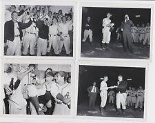 vtg lot of (5) c. 1947 Aberdeen Pheasants minor league photos Northern League