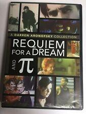 Requiem for a Dream/Pi (Dvd,2007,2-Disc Set,Widescreen) Not a Scratch! Usa!