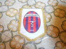 GAGLIARDETTO CALCIO COLLEZIONISMO VINTAGE   VIRTUS   CASARANO  CM  22 X 29