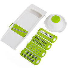 Useful Vegetable Potato Carrot Cucumber Slicer Peeler Cutter Kitchen Tool 5 in 1