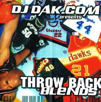 DJ DAK Throwback Blends NYC Hip Hop R&B Blends Mixtape MIX CD