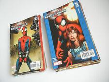 Ultimate Spiderman Lot Marvel Bendis Bagley 38 issues total