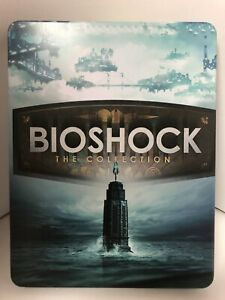 Bioshock The Collection Custom-Made Steelbook Case PS4 (NO GAME)