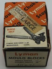 Reloading Lyman Ideal 416 Bullet Mould Double Cavity 311291 in Original Box