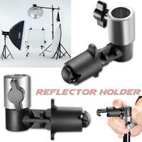 Video Photography Studio Background Reflector Disc Holder Clip for Light Stand