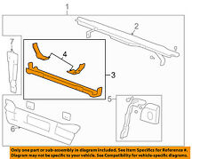 Hummer GM OEM 03-09 H2 Radiator Support-Lower Tie Bar Bracket 15064484