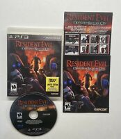 Resident Evil: Operation Raccoon City (Sony PlayStation 3, 2012) COMPLETE!!