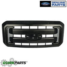 11-16 Ford F250 F350 Super Duty Black Grille Front Radiator Grill OEM BC3Z8200G