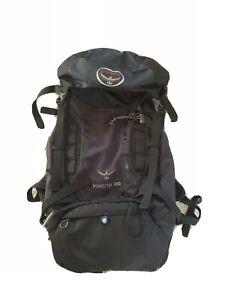 Osprey Kestrel 28 Backpack  S/M (41-51cm) with Rain Cover Navy Blue