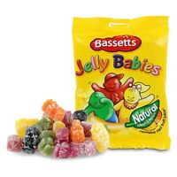 MAYNARDS BASSETTS JELLY BABIES 165G BAG KIDS SWEETS TREATS PARTY HALLOWEEN