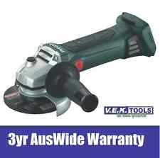 METABO 18V 125MM ANGLE GRINDER BARE UNIT SKIN-W18LTX-NEW!!-3YR AUSWIDE WARRANTY