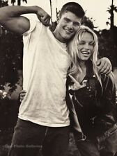 1990s BRUCE WEBER Handsome Male Model With Pamela Anderson Photo Gravure 11X14