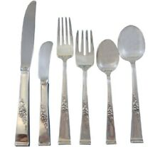 Classic Rose by Reed & Barton Sterling Silver Flatware Set 12 Service 75 Pieces