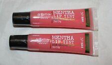 2 Bath & Body Works C.O. Bigelow Mentha Lip Tint Lip Gloss - Pink Mint