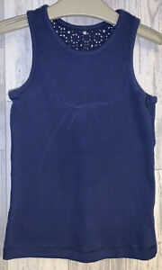 Girls Age 5-6 Years - Blue Vest Top