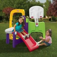 Little Tikes Fold Away Indoor/Outdoor Climber Slide Gym FUN Play Toy