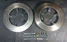 1978 Honda Goldwing GL1000 front brake rotors discs left right rotor disc bolts