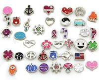 Wholesale Mixed Floating Charms for Glass Living Memory Lockets Choose Qty