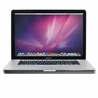 "17"" Apple Macbook Pro Intel 2.60GHz Dual-Core Full HD 4GB RAM 500GB HDD MB604LLA"