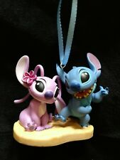 New Disney Lilo and Stitch- Angel and Stitch Christmas Ornament