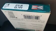 QL16V stock# 876M Champion Spark Plug SET OF 4 FREE SHIPPING