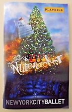 NUTCRACKER Playbill NYC Lincoln CENTER Ballet CHRISTMAS Holidays 2015 New YORK**