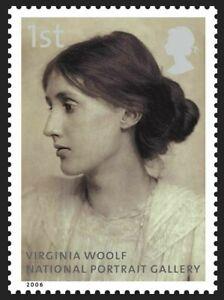 Virginia Woolf on 2006 stamp