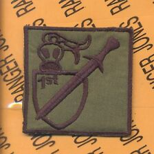 1st Plt 716th MP 101 Airborne HCI Helmet patch B