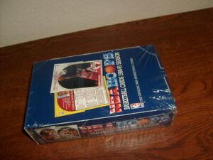 NBA HOOPS BASKETBALL CARDS 1990-91 SEASON,  Factory Sealed Box