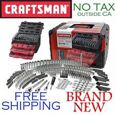 New CRAFTSMAN 450pc Piece Mechanics TOOL SET w 3 DRAWER CASE, Metric, SAE Inch