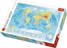 Trefl, Puzzle, Weltkarte, 1000 Teile, Premium Quality