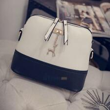 Fashion Women Handbag Leather Messenger Shoulder Bag Shell Tote Ladies Purse Bag