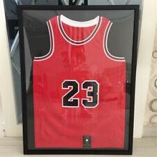 "31.5"" Jersey Display Case Shadow Box Frame Sports Football Baseball Basketball"