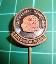 Belga kauwgom Antwerpen Roosendaal chewing gum stick pin badge vtg 60's speldje